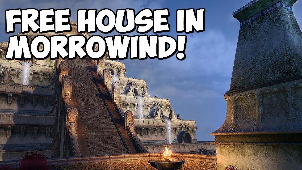 Elder Scrolls Online: How To Get A Free House In Morrowind