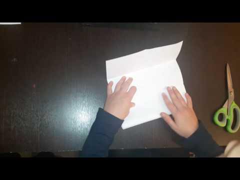 Делаем книжку-малышку. Оригами