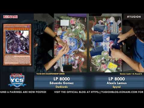 [ROUND 6] YCS San Diego Nov 2017 DARKLORDS VS SPYRAL