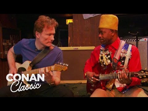 """Conan Plays The Blues With Lil' Ed - """"Late Night With Conan O'Brien"""""""