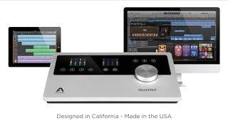 Learn more about Apogee Quartet: http://www.apogeedigital.com/produ...