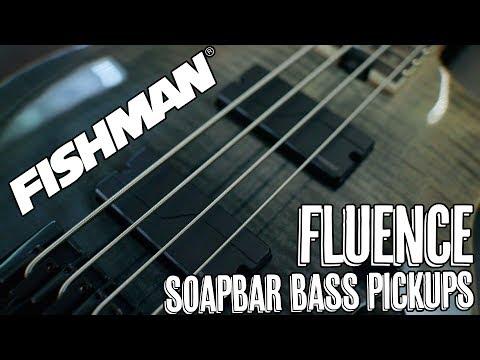 Fishman Fluence Soapbar Bass Pickups - Demo