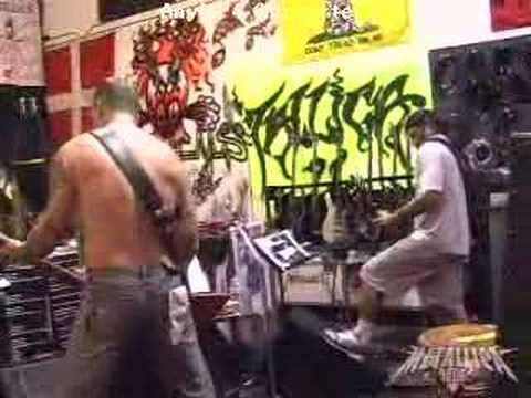 MetallicaDamage inc Rehearsal