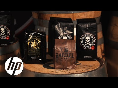 Death Wish Coffee Prints Customized Bags | HP Indigo | HP