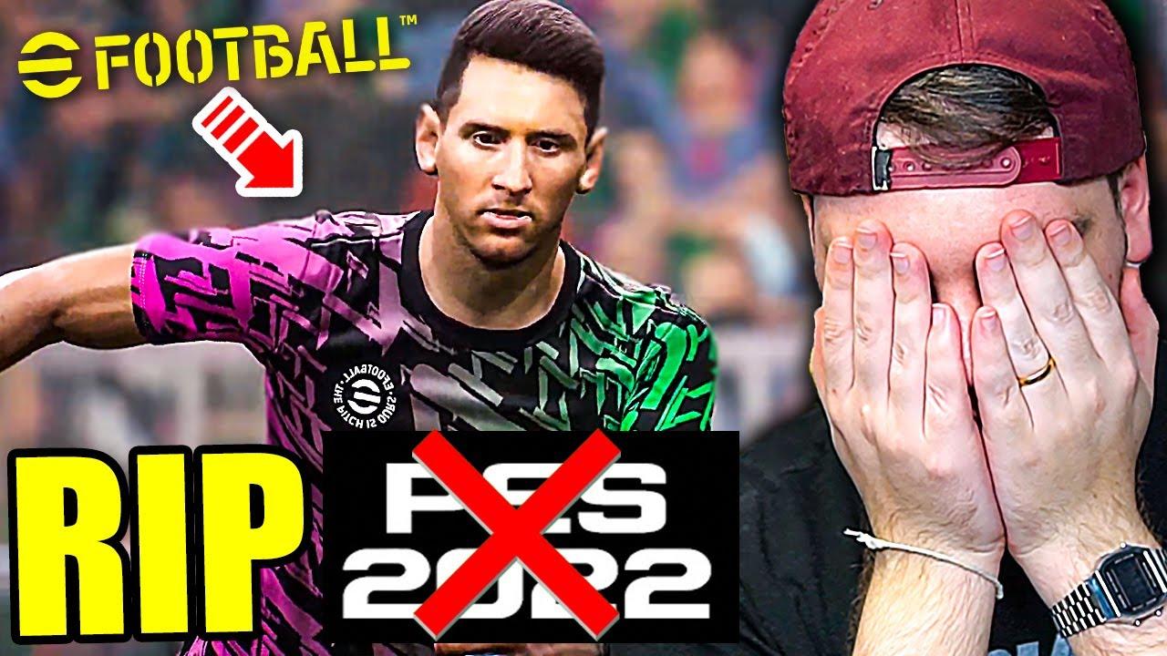 RIP PES 2022... eFOOTBALL FA GIÀ SCHIFO?? - IL FUTURO dei GIOCHI di CALCIO