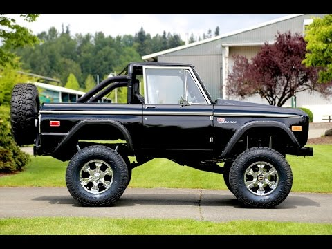 1970 ford bronco mainly muscle cars test drive youtube. Black Bedroom Furniture Sets. Home Design Ideas