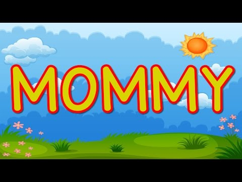 MOMMY | Happy Mother's Day | Kid's Song for Mother's Day | Jack Hartmann