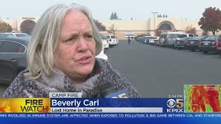 CAMP FIRE EVACUEES:  Away from the Presidential visit Camp Fire evacuees struggle with surviving in