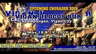 Please Watch!!! JMCIM Central Live Streaming of FRIDAY OVERNIGHT PRAYER | MAY 10, 2019.