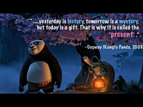 Master Oogway S Inspirational Speech To Po Kung Fu Panda Youtube