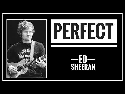 (COVER) ED SHEERAN - PERFECT Lyric (SUB INDO)