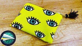 як зробити з тканини гаманець