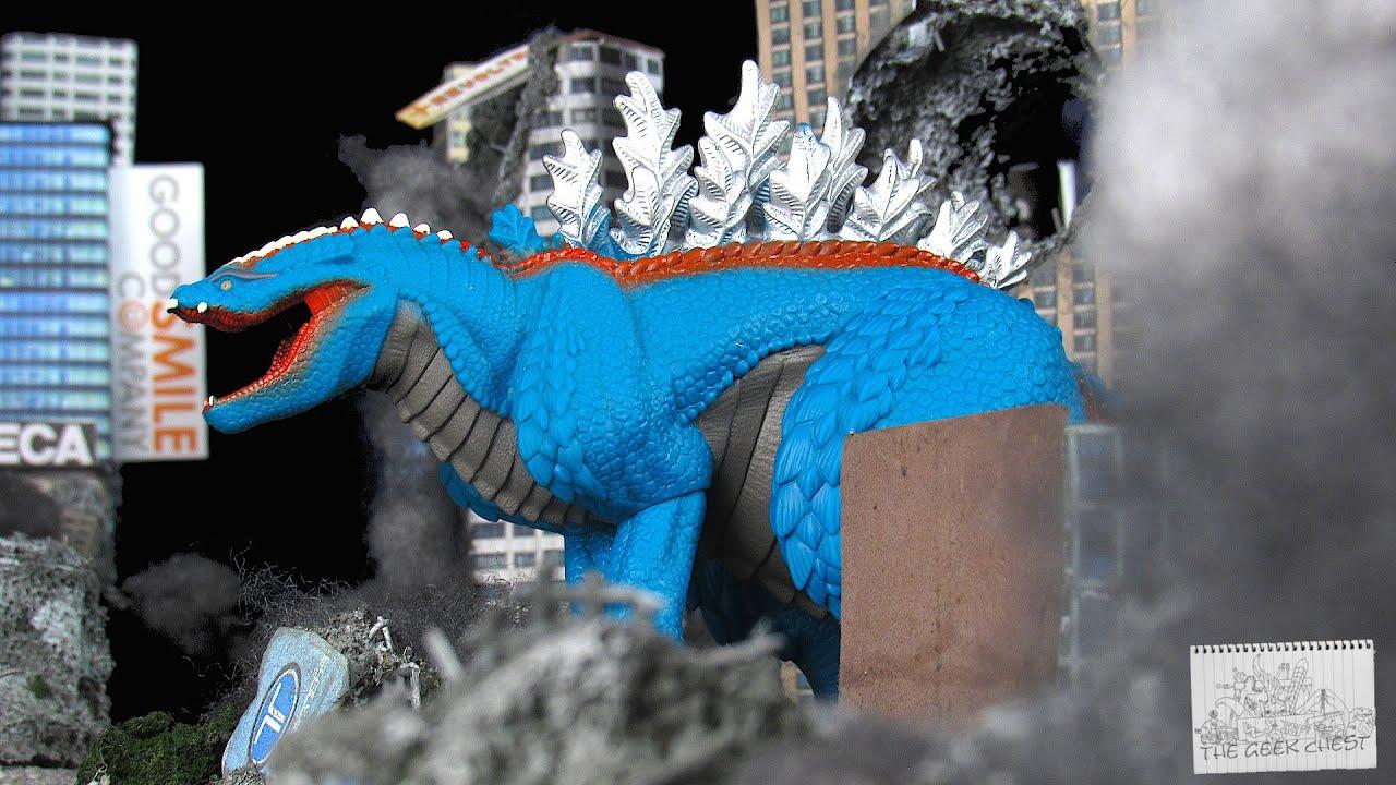 Godzilla Singular Point Movie Monster Series Godzilla Terrestris - Netflix Kaiju Vinyl Figure Review