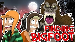 THE NEWEST JUMPSCARE GAME?!! - FINDING BIGFOOT!! W/Speedy
