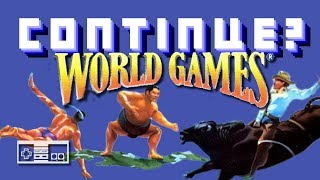 World Games (Nintendo NES) - Continue?
