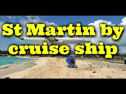 Cruise to St martin Cruiseweek.TV live - with our guest from St Marteen - Bernard