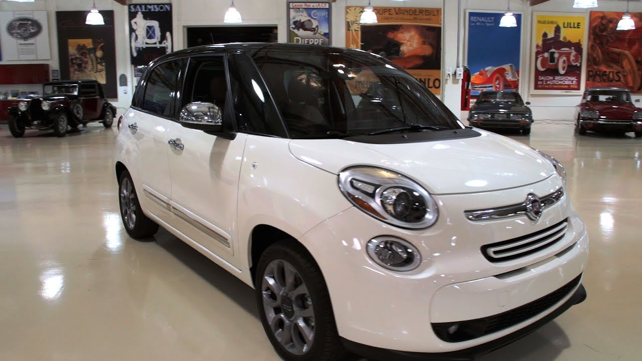 2013 Fiat 500L - Jay Leno's Garage - YouTube