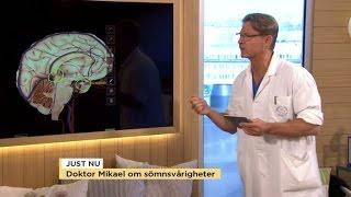 """Doktor Mikael om sömnen: """"Väck din tonåring som sover för länge"""" - Nyhetsmorgon (TV4)"""