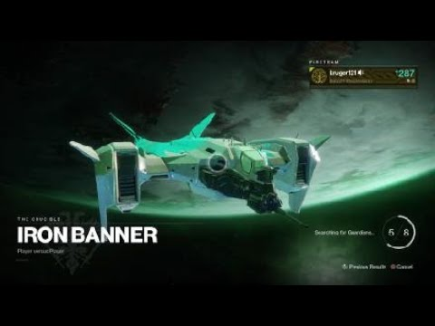 Destiny 2 Iron Banner Ahh Old Times Ss Of Time Using Mida Multi Tool