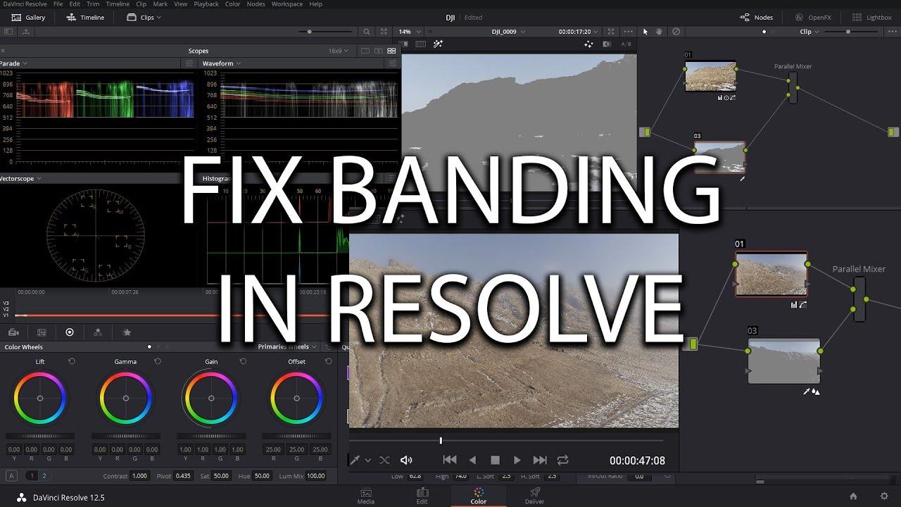 Davinci Resolve Fix Compression Banding – Filmmaker's Memory