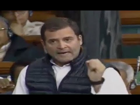 FULL SPEECH : Rahul Gandhi BEST Speech In Lok Sabha..Rafale Deal Debate..Narendra Modi..