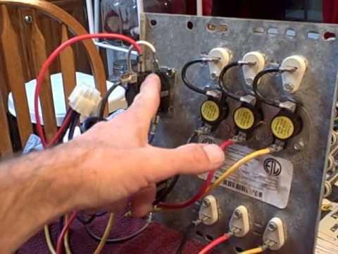 HVAC Electric heat kit / strips shown!