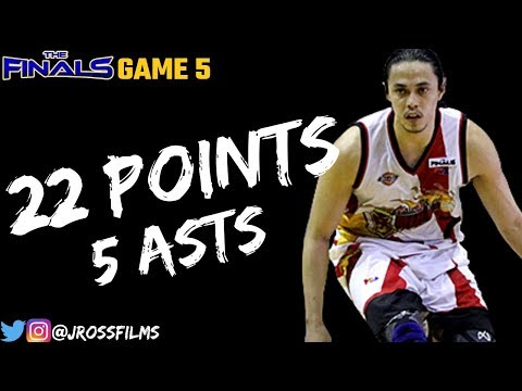 Terrence Romeo Full Highlights vs. TnT | Finals G5 | 22 PTS, 5 ASTS!!