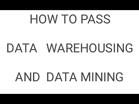 IT6702 - DATA WAREHOUSING AND DATA MINING IMPORTANT QUESTIONS