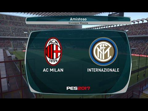 Milan x Internazionale, 20/11/2016, Inter de Milão, LIVE,  Serie A TIM, PES 2017, vivo,