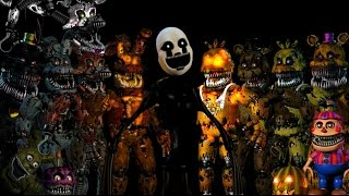 Five Nights At Freddy's 4 - Jumpscares Animatronics