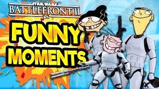 Star Wars Battlefront 2 Funny & Random Moments [FUNTAGE] #36  - Ed Edd n' Eddy Special!