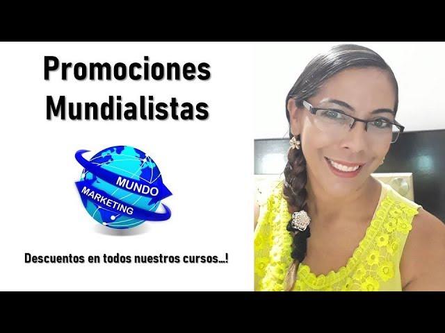 PROMOCIONES MUNDIALISTAS - DESCUENTOS EN TODOS LOS CURSOS DE MARKETING ONLINE
