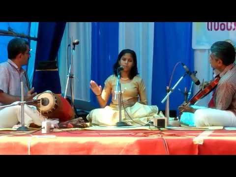 Seethamma mayamma keerthanam by Jothika J at Pazhayannur temple