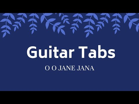 5.5 MB) Oo Jane Jana Guitar Chords - Free Download MP3
