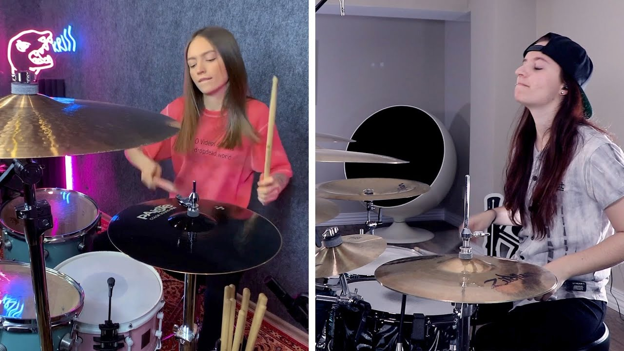Sugar, We're Goin Down - Fall Out Boy - Drum Cover Ft. @Kristina Rybalchenko