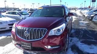 17G166A 2015 Buick Enclave Premium For Sale Columbus Ohio