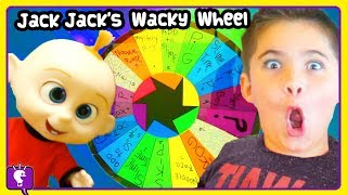 INCREDIBLES Jack Jack Wheel of Adventure! DIY Slime Toy Play by HobbyKidsTV