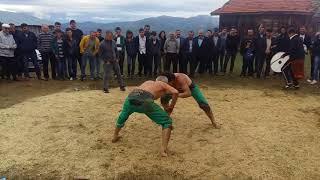 ÇORUM İSKİLİP Yukarı Ekşioğlu Köyü Hocaların Karakucak Güreşi