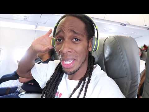 Our Hilarious Flight/Vacation Trip To ATL | Black Family Vlogs