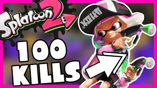 100 KILLS AT SPLAT DUALIES ! - SPLATOON 2