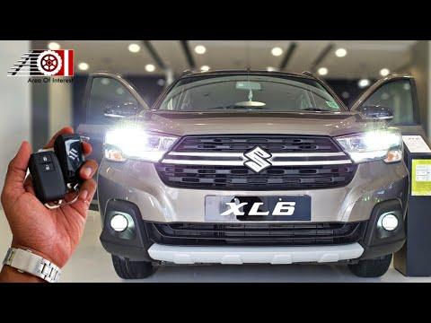 New Maruti Suzuki XL6 BS6 Magma Grey Color   Price   Mileage   Interior   Features   Specs