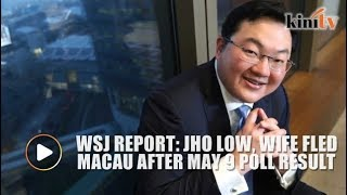 Report: Jho Low, wife fled Macau following BN's defeat in GE14