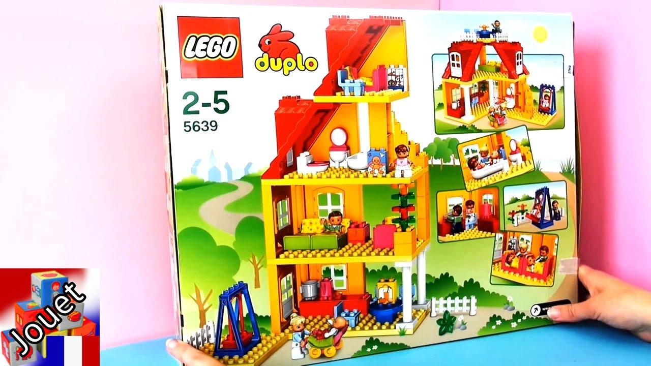 Duplo ville maison de famille lego pr sentation youtube for Modele maison lego duplo