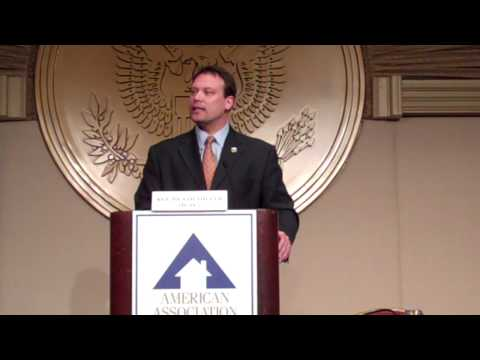 Rep. Heath Shuler at Washington Legislative Conference
