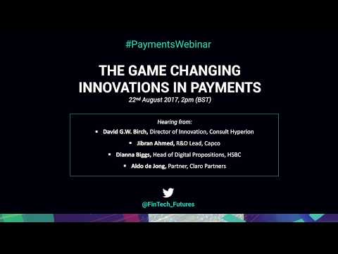 The Game Changing Innovations in Payments