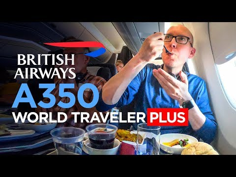 British Airways A350 Premium Economy Review (LHR-DXB)