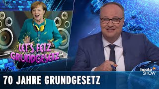 Herzlichen Glückwunsch, liebes Grundgesetz! | heute-show vom 17.05.2019