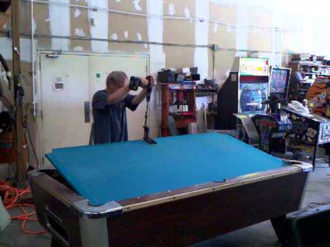 Awesome Removing Pool Table Slate