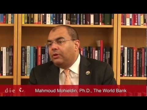 Mahmoud Mohieldin, Managing Director of The World Bank (17 November 2011)