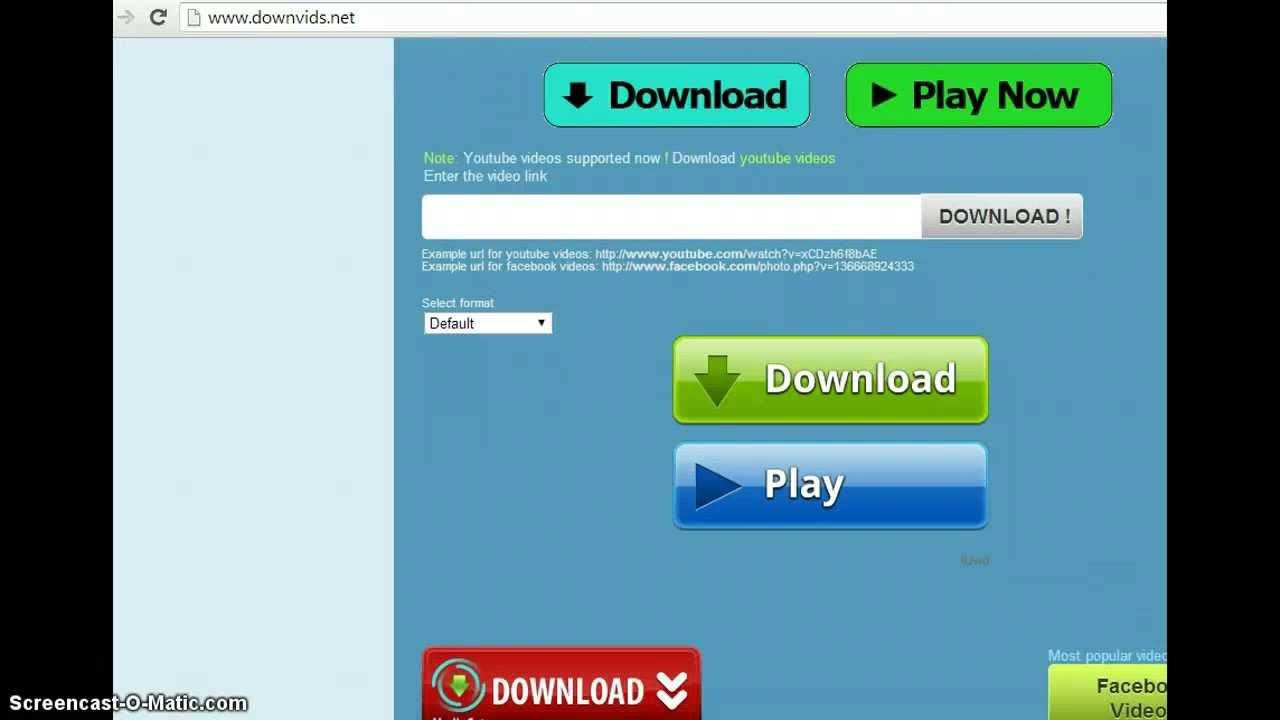 downvids net download youtube videos